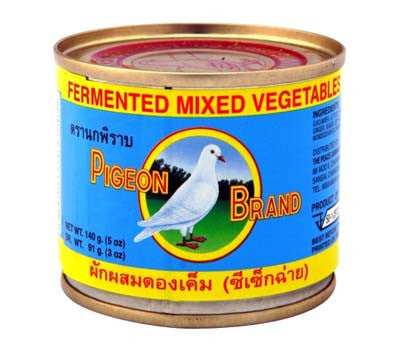 Pigeon Fermented Mixed Vegetables, 5 oz (48-Count)