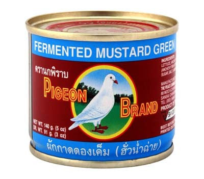 Pigeon Fermented Mustard Green, 5 oz (48-Count)