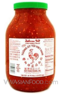 Huy Fong Chili Garlic Sauce, 8.5-Pound Jar (4-Count)