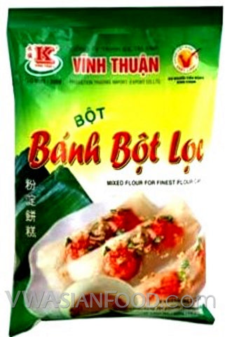 Vinh Thuan Mixed Flour for Finest Flour Cake (Bot Banh Bot Loc), 14 oz (30-Count)