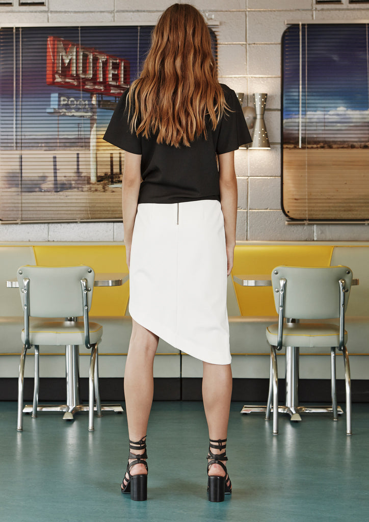 Mojarra Skirt - Ivory by August St