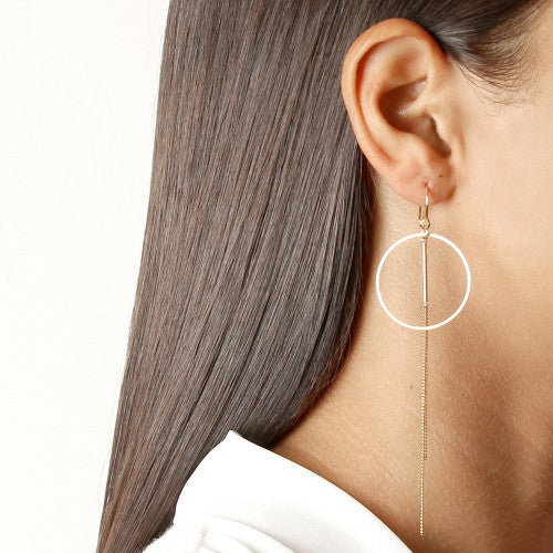 Azura Earrings Silver by Jolie & Deen