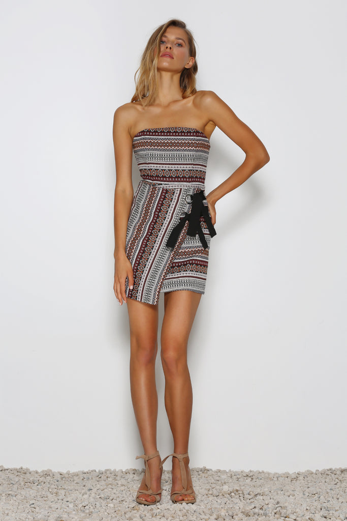 Magic Carpet Mini Dress by Premonition