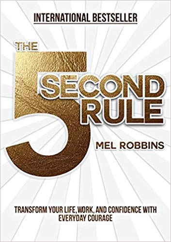 The 5 Second Rule By Mel Robbins - Mansfield Nutrition