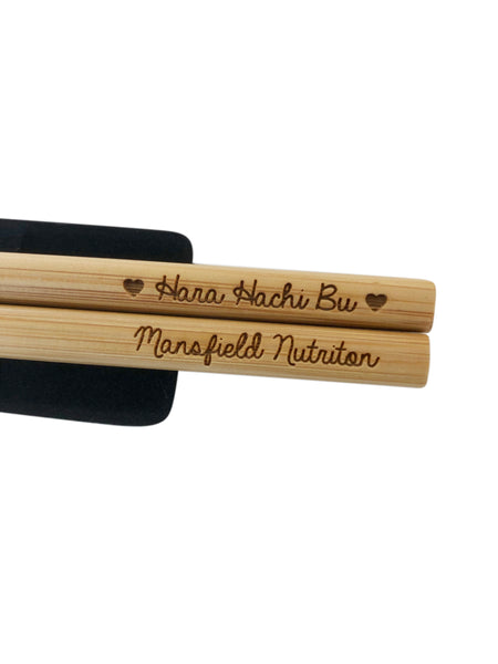 Hara Hachi Bu Collection: Portion Control Chopsticks © - Mansfield Nutrition
