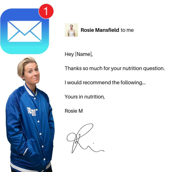 ASK ME A NUTRITION QUESTION - rosiemansfield