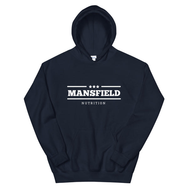 Mansfield Nutrition 'All Stars' Navy/White Unisex Hoodie - Mansfield Nutrition