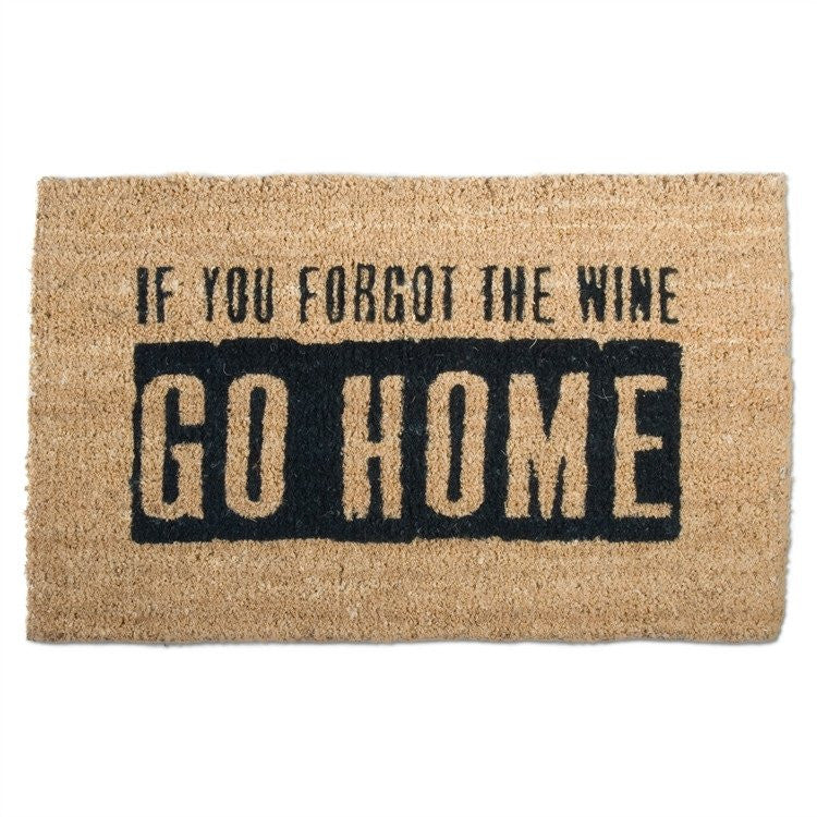 WHERE'S THE WINE COIR MAT