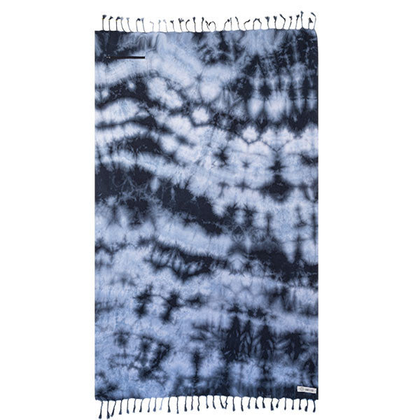 Black Acid Wash Pocket Towel