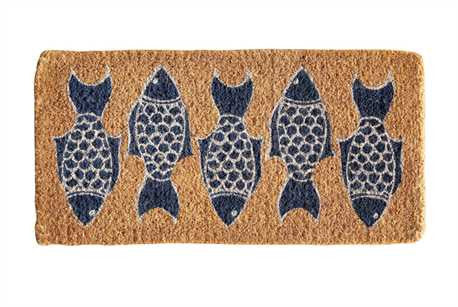 Natural Coir Fish Doormat