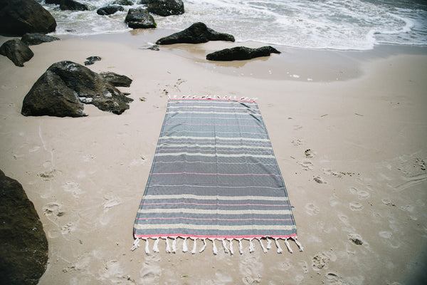 Gold Diamond Beach Towel