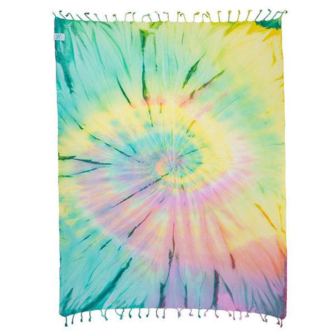 Wanderlust Tie-Dye Pocket Towel