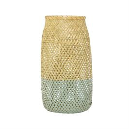Bamboo Lantern with Glass