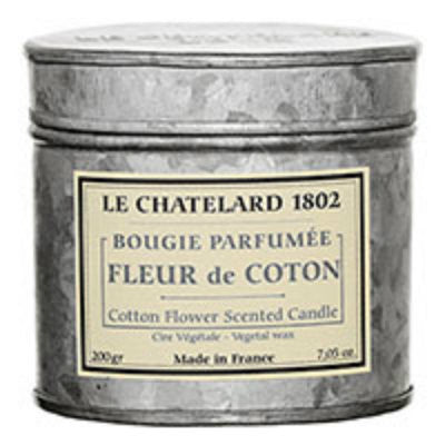 Le Chatelard 1802 Cotton Flower Candle