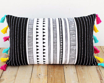 Aztec Print Pillow Cover