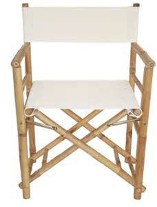 Bamboo Director's Chair