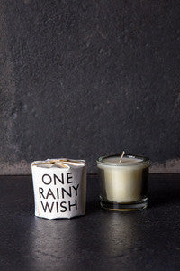 One Rainy Wish Tisane Candle