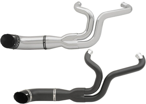 PYTHON RAYZER 2-INTO-1 EXHAUST SYSTEM (Chrome or Matte Black)