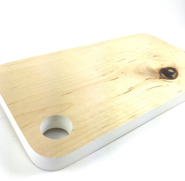 Mini Cutting/Charcuterie Board - White