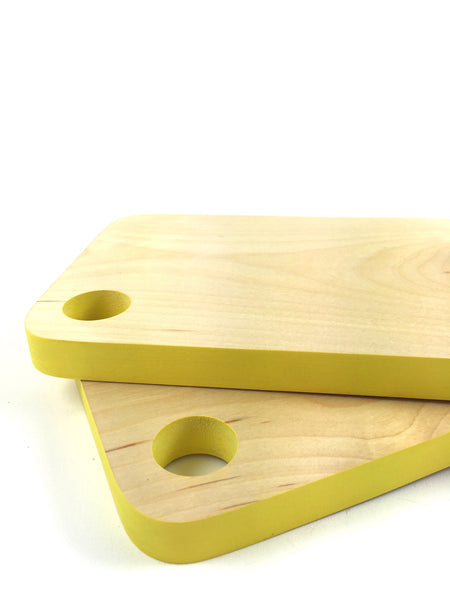 Mini Cutting/Charcuterie Board - Yellow