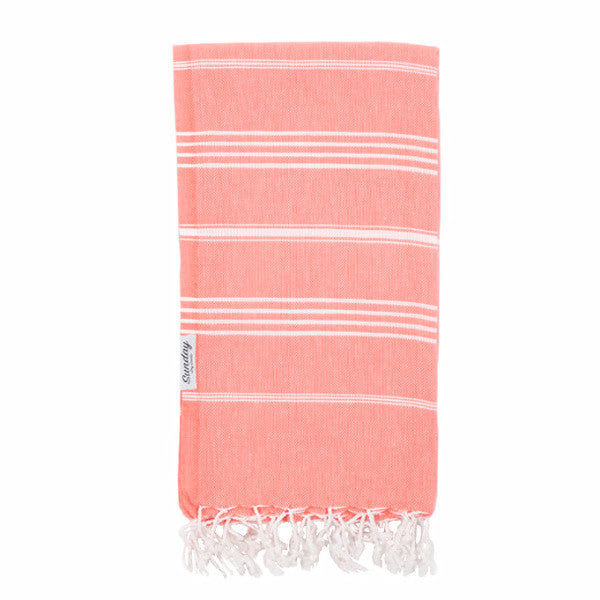 Everyday Standard Towel - Coral