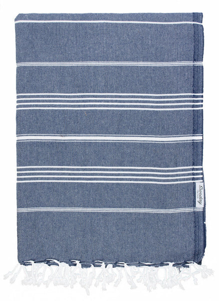 Everyday Family Beach Blanket - Navy