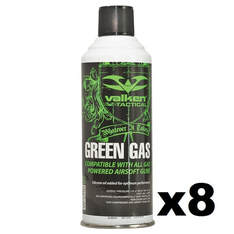 Valken Green Gas 8-Pack