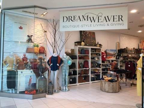 Dream Weaver's mix of Canadian, ethical and sustainable products.