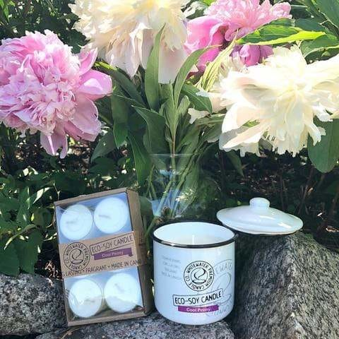 Cool Peony Candles | Dream Weaver Boutique