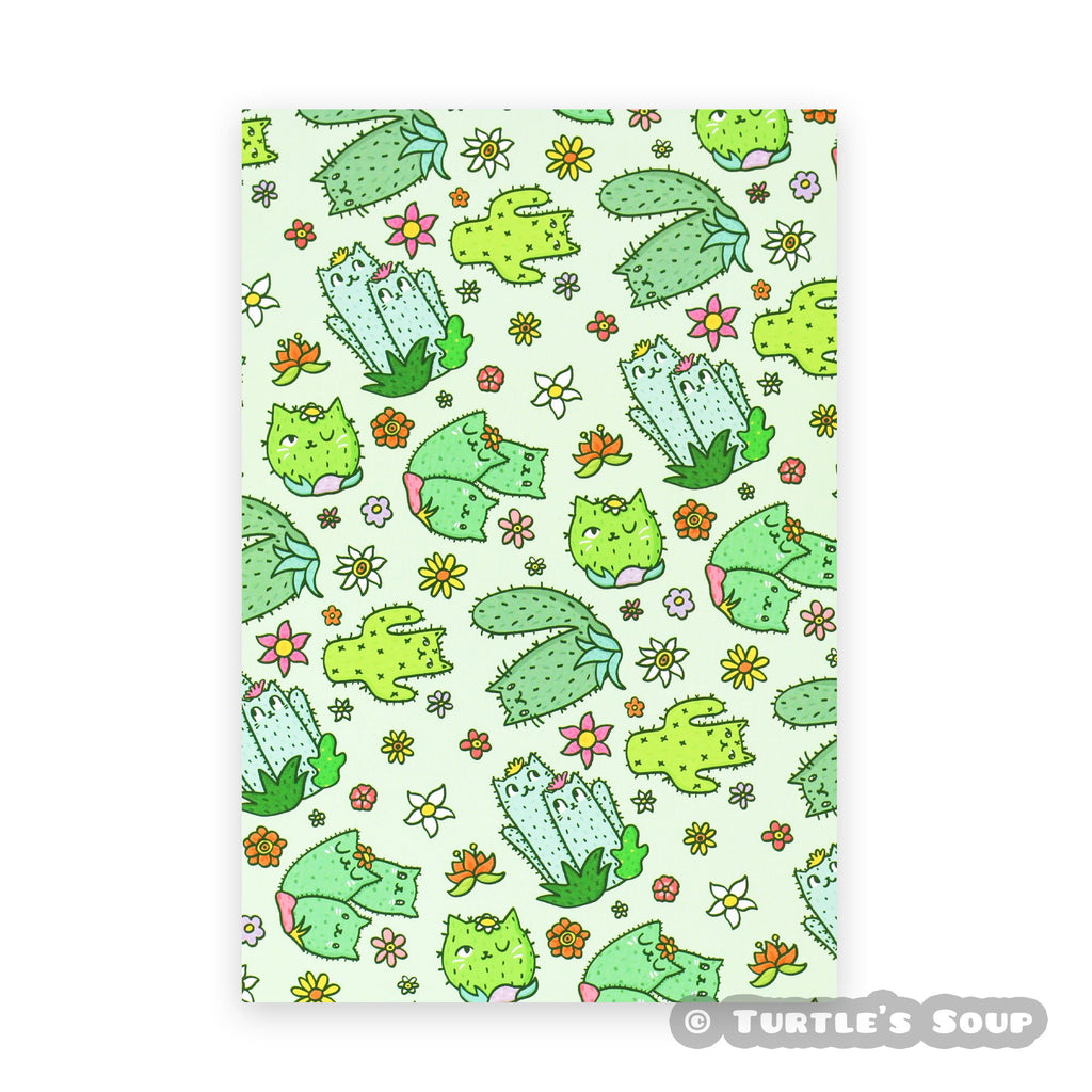Cute-Green-Postcard-Snail-Mail-Pattern-Turtle_s-Soup.