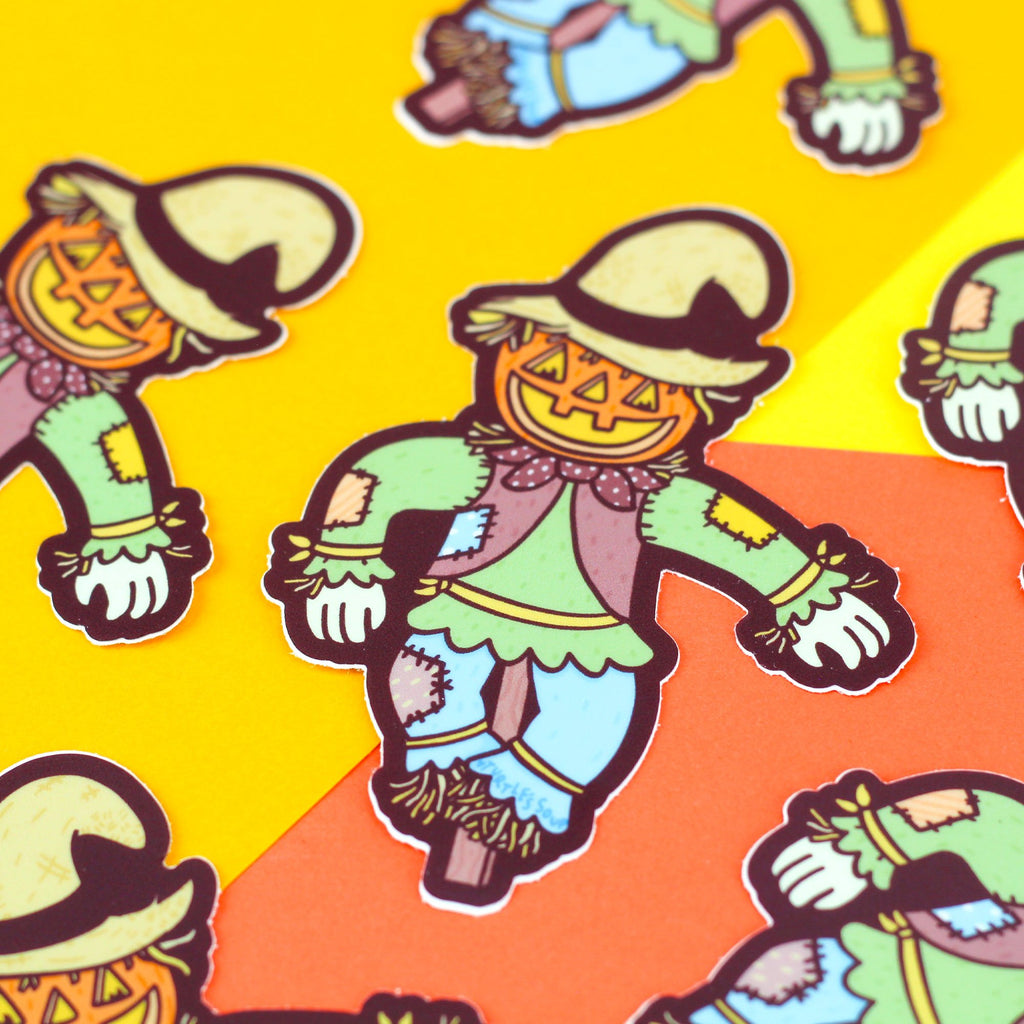 cute-scarecrow-pumpkin-halloween-scary-sticker-gift-for-friend-party