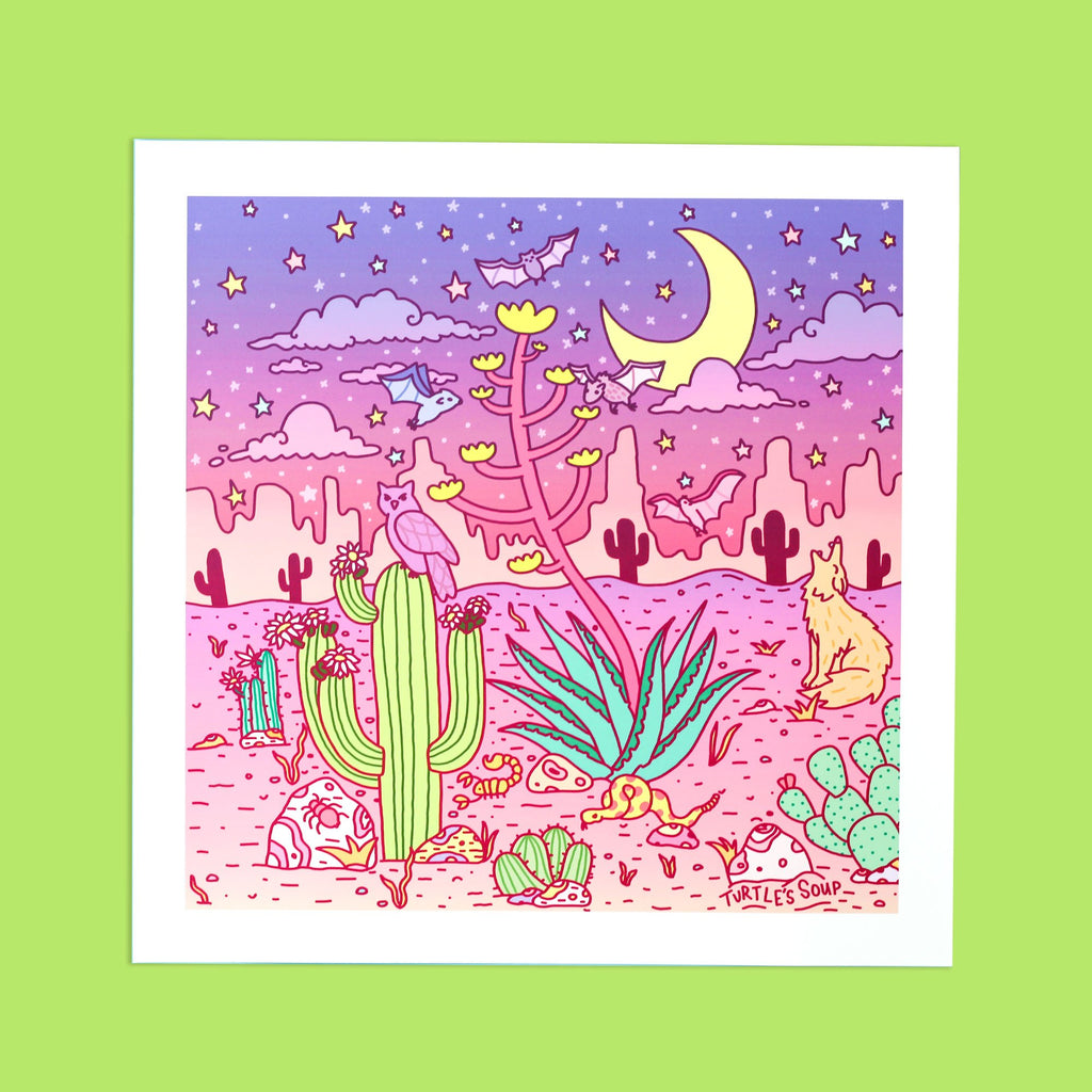 dreamy-desert-art-print-sonoran-animal-tucson-giclee