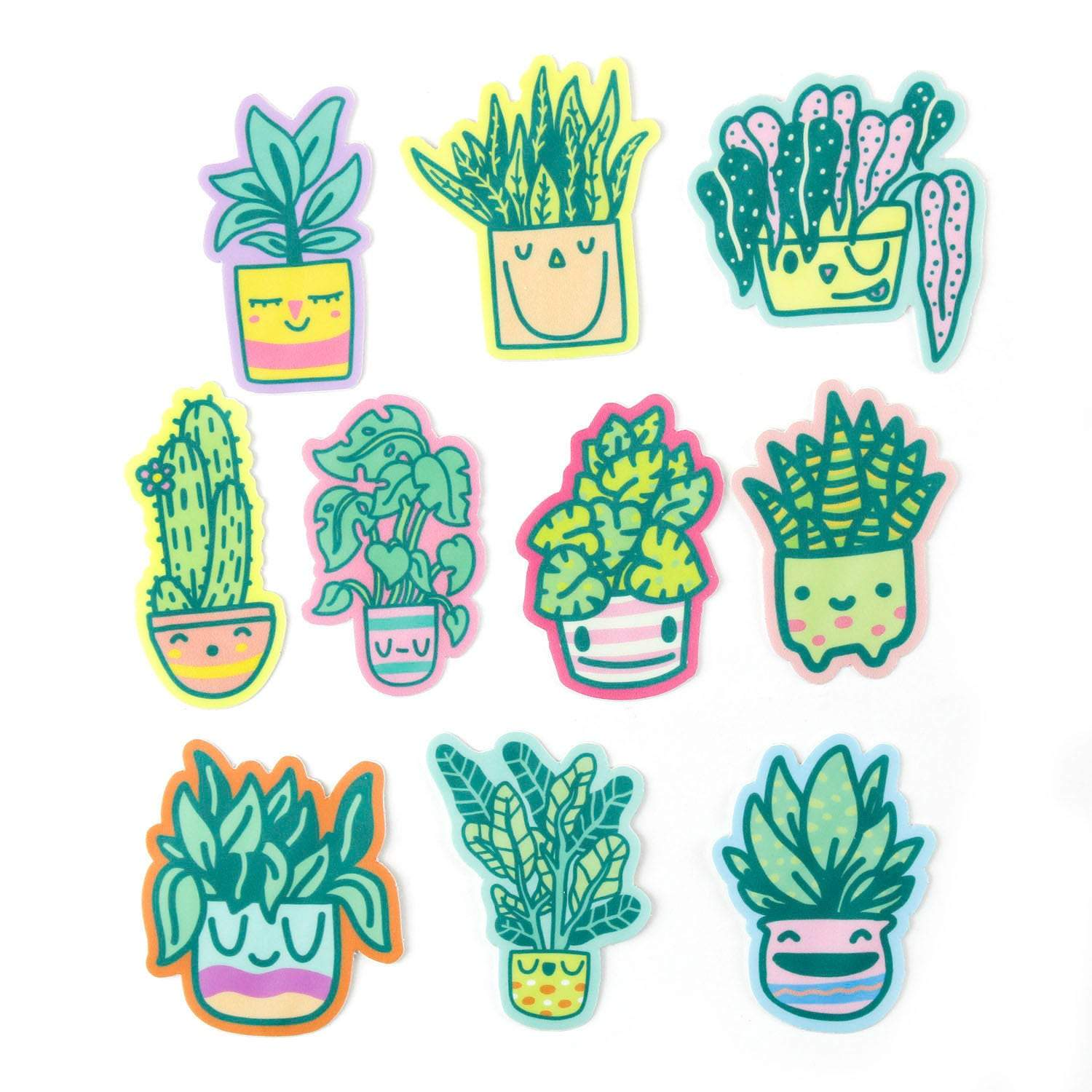 Happy Little Planters Sticker Pack