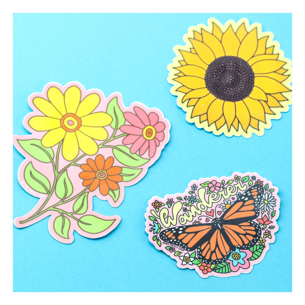 sunflower-wildflower-butterfly-turtle_s-soup-laptop-decals
