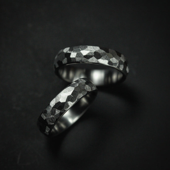 Titanium Freehand Ground Ring Set