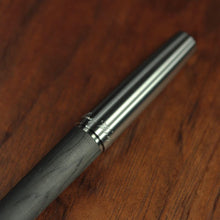 Load image into Gallery viewer, Titanium and Carbon Fiber Fountain Pen