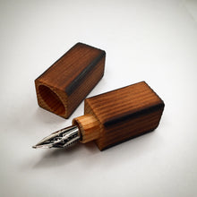 Load image into Gallery viewer, Shou Sugi Ban Cedar Nib Box
