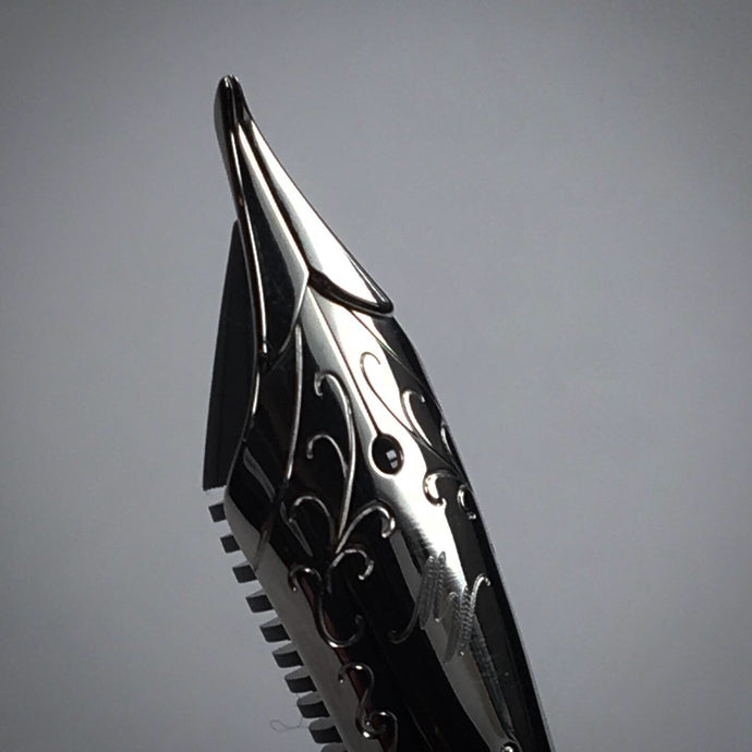 The Avocet Sculpted Fude Nib