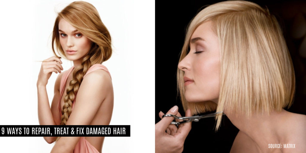9 Ways To Fix Damaged Hair