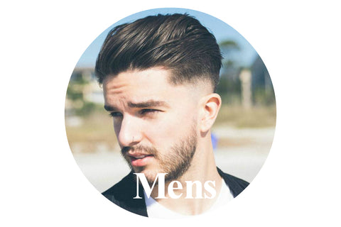 Haircare products for men