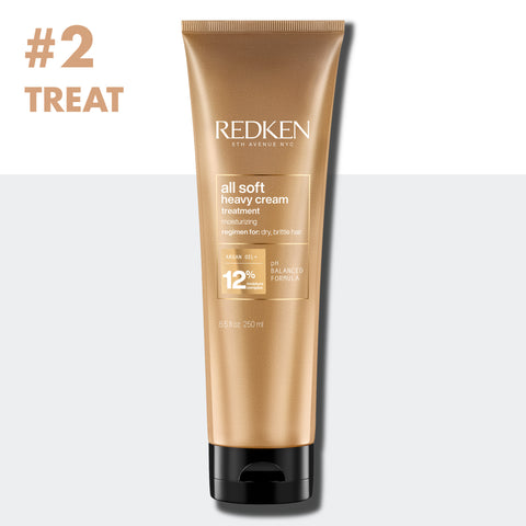 Step 2 Treat With Redken All Soft