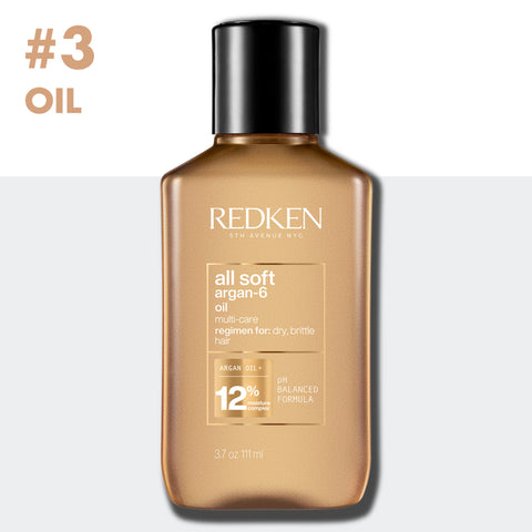 Step 3 Oil With Redken All Soft