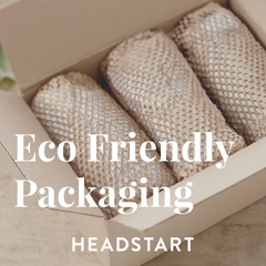 Headstart Use Eco Packaging