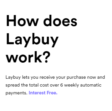 How Does Laybuy Work?