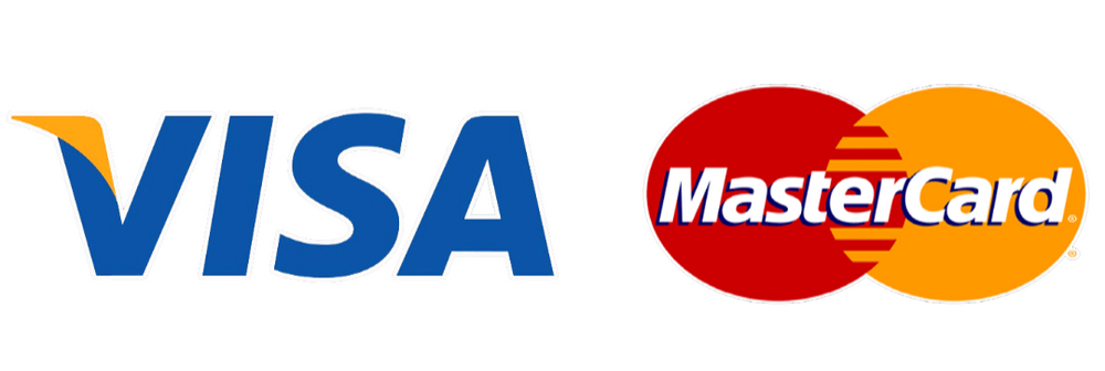 Pay by Visa or Mastercard