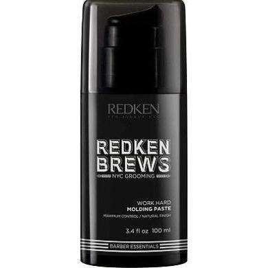[headstart]:Redken Brews Work Hard Moulding Paste 100ml
