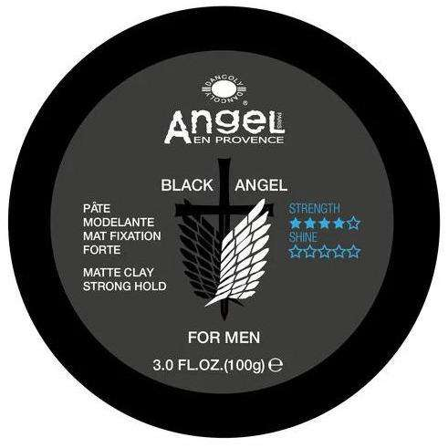 [headstart]:Black Angel Matt Clay (Strong Hold) 100ml