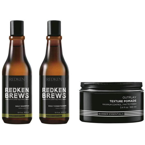 [headstart]:Redken Brews For Men Multi Buy Bundle