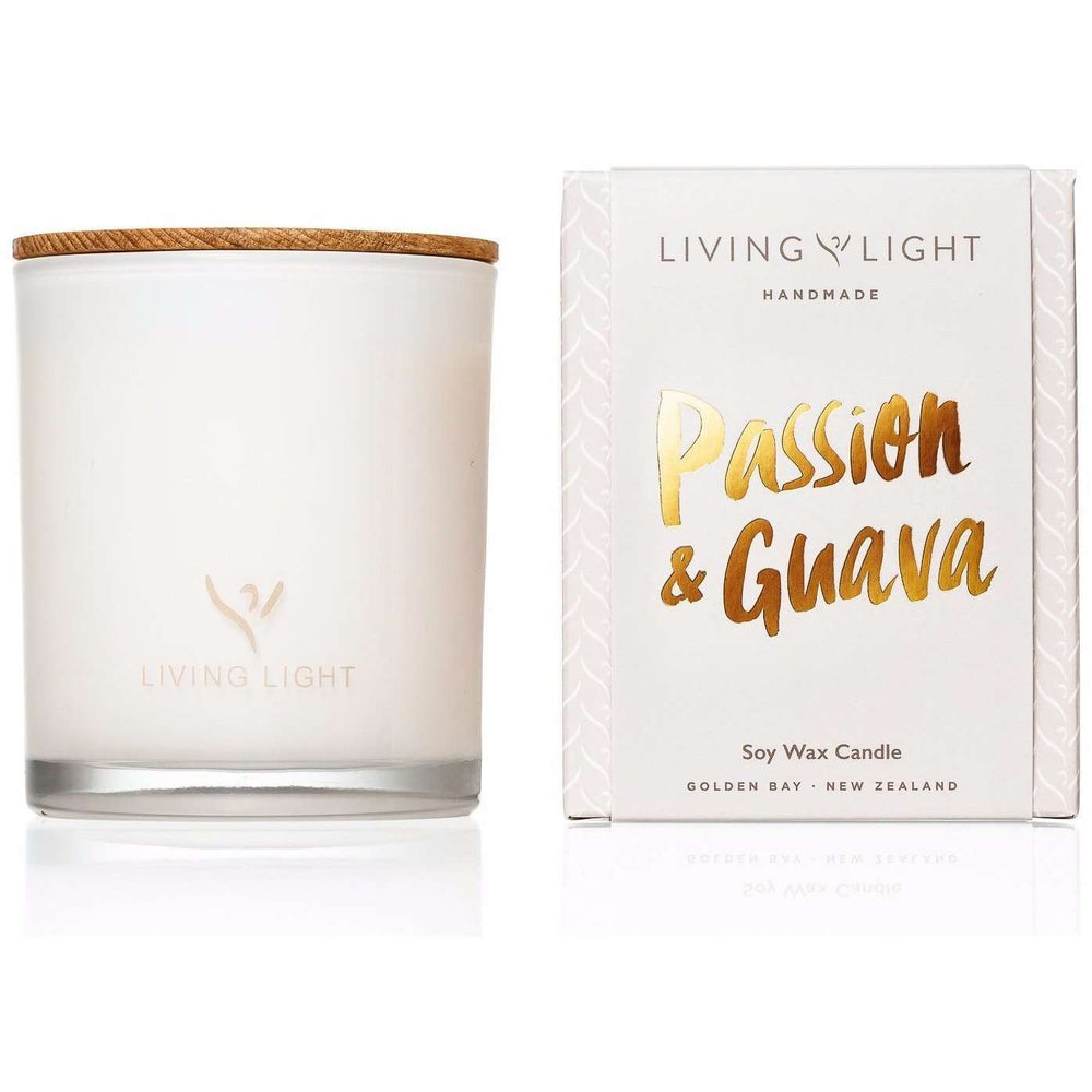 Living Light Dream Soy Candle: Passion & Guava - Headstart