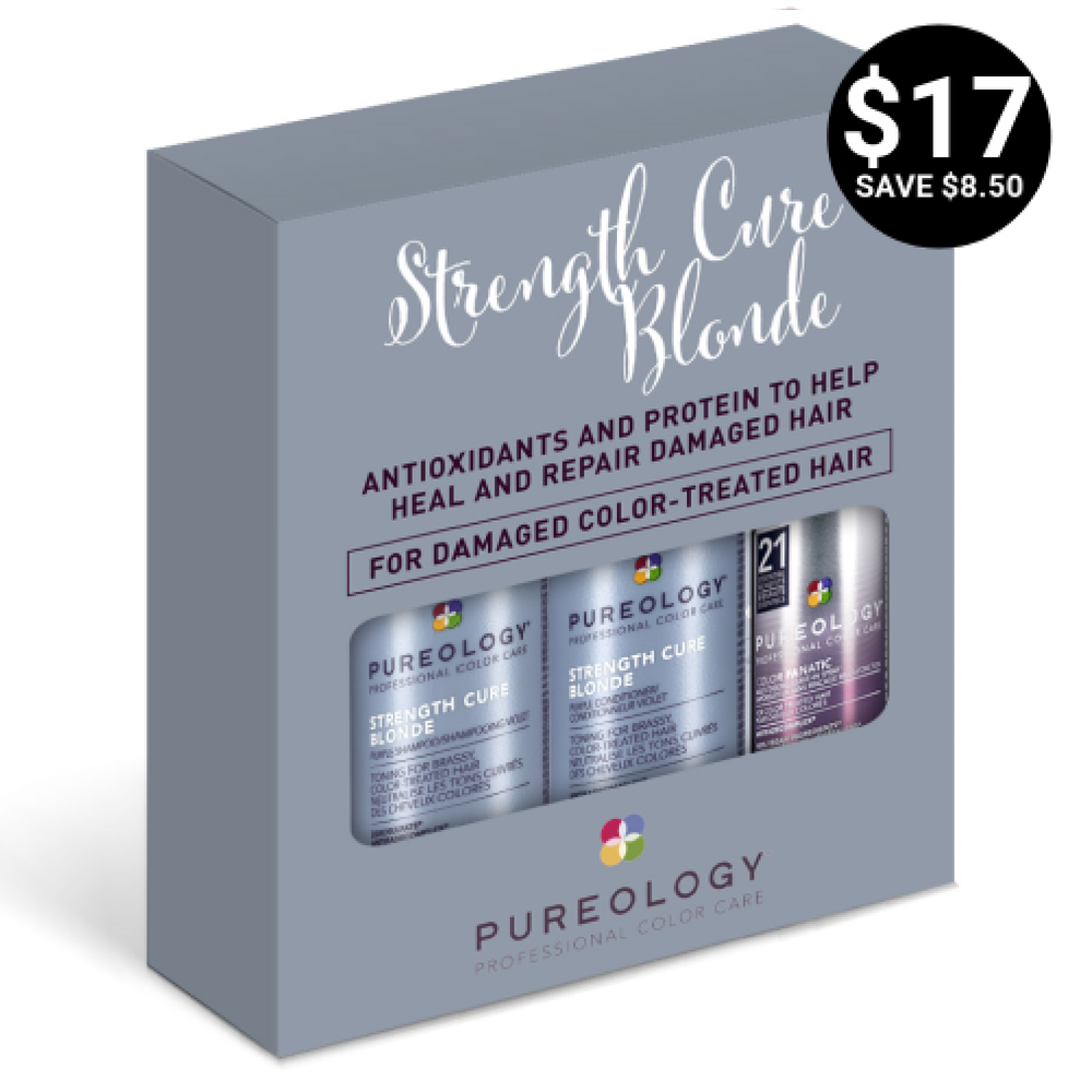 Pureology Strength Cure Blonde Mini Set